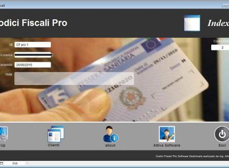 Codici Fiscali Pro
